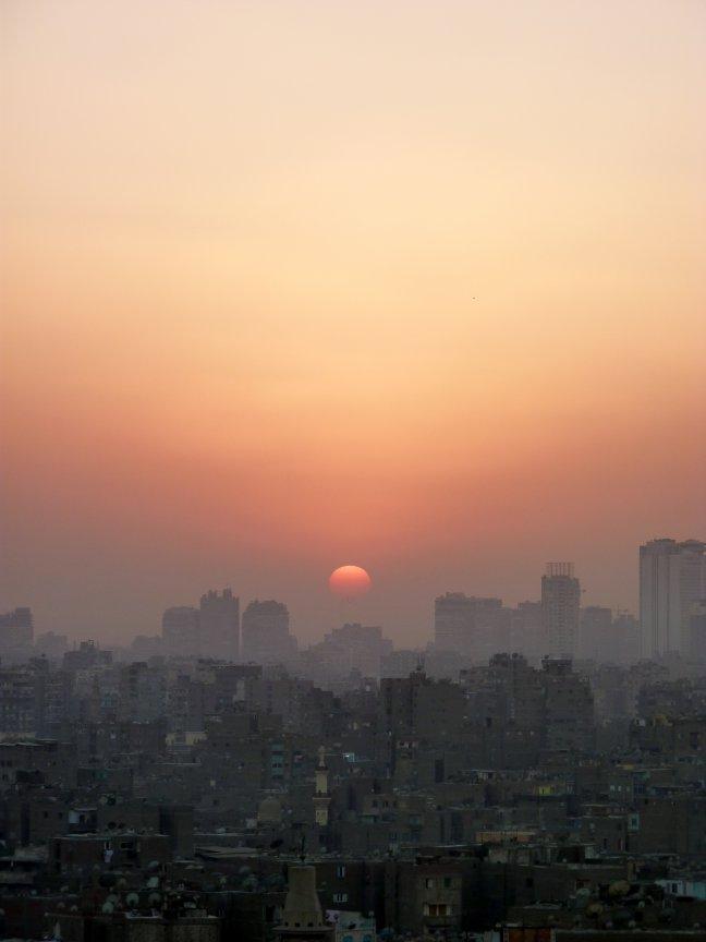 Cairo vanaf Al-Azhar-Park