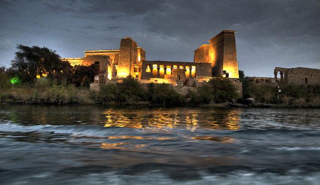 de tempel van Philae