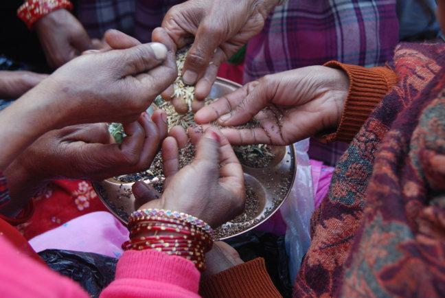 Hindufeest in Nepal