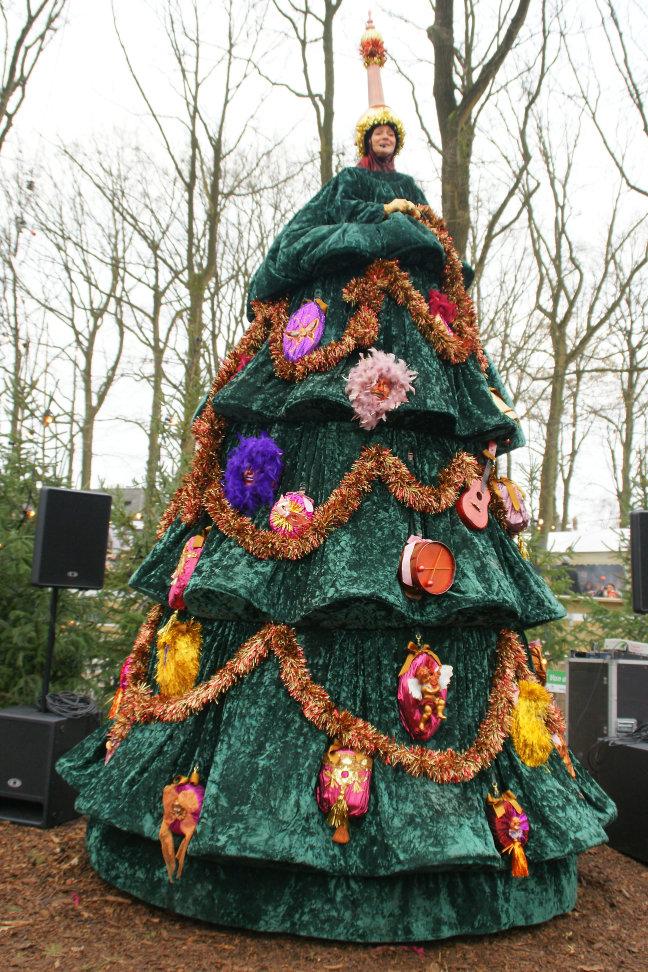 Zingende Kerstboom.