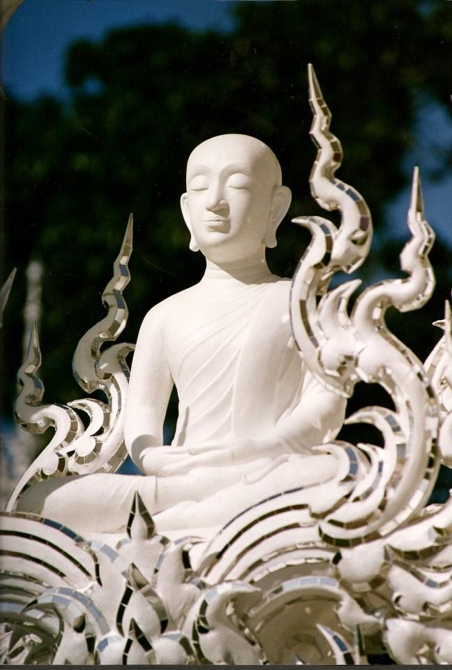 Wat Rong Khun: de Witte Tempel