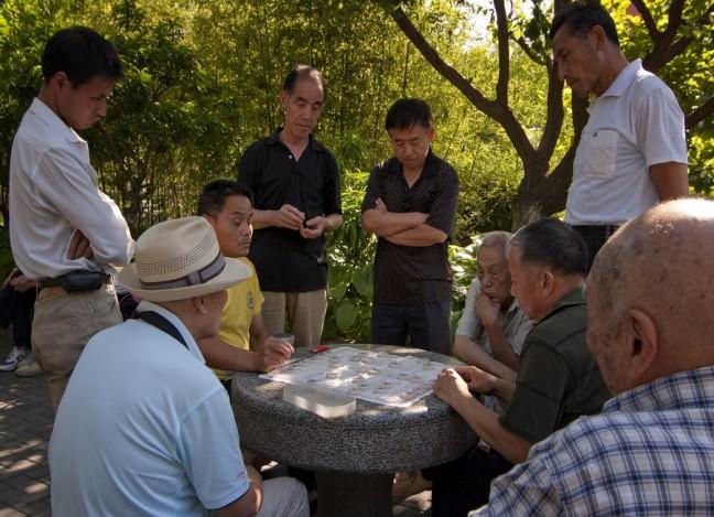 Altijd veel belangstelling voor Chinees schaken ofwel Xiangqi