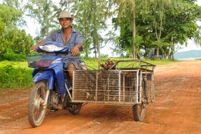 Thai op zijspan
