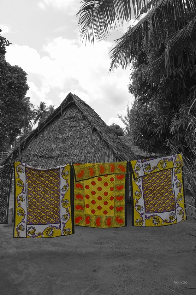 dorpje omgeving Ukunda