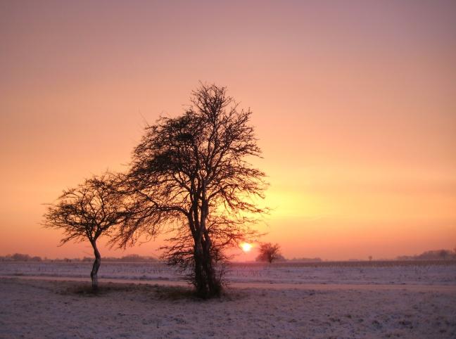zaterdag 18 december zonsondergang