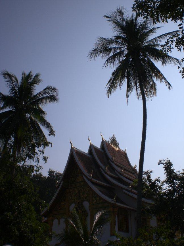 Tempel bij het Luang Prabang National Museum.