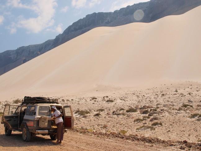 De zandduinen bijn Arher