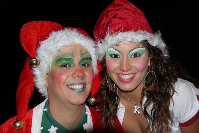 Kerst of Carnaval..