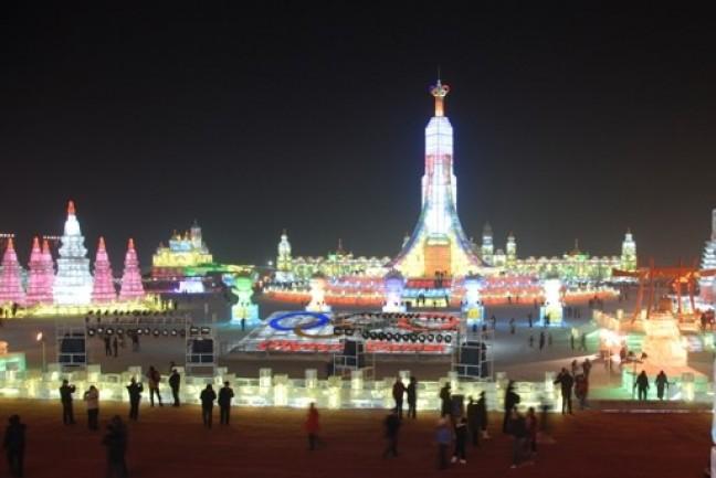Stad Van IJs in Harbin