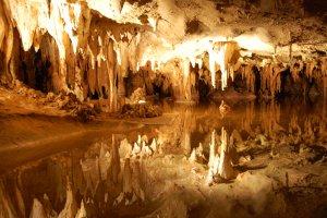 Luray caverns druipsteengrotten Virginia