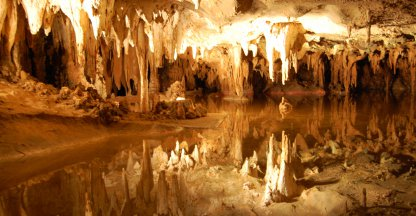 Luray caverns druipsteengrotten Virginia