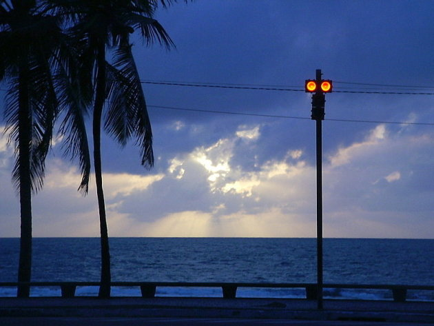 Recife Praia Boa Viagem Zonsopkomst