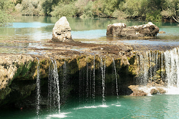 Kleine Manavgat-waterval