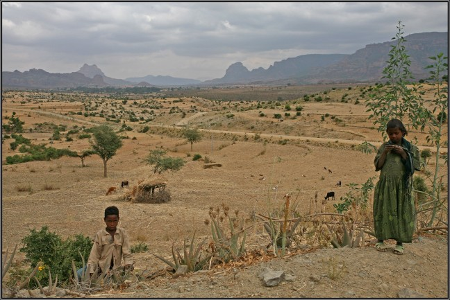 landschap noord ethiopië