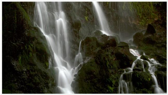 Waterval in Nordeste, Sao Miguel, Azoren