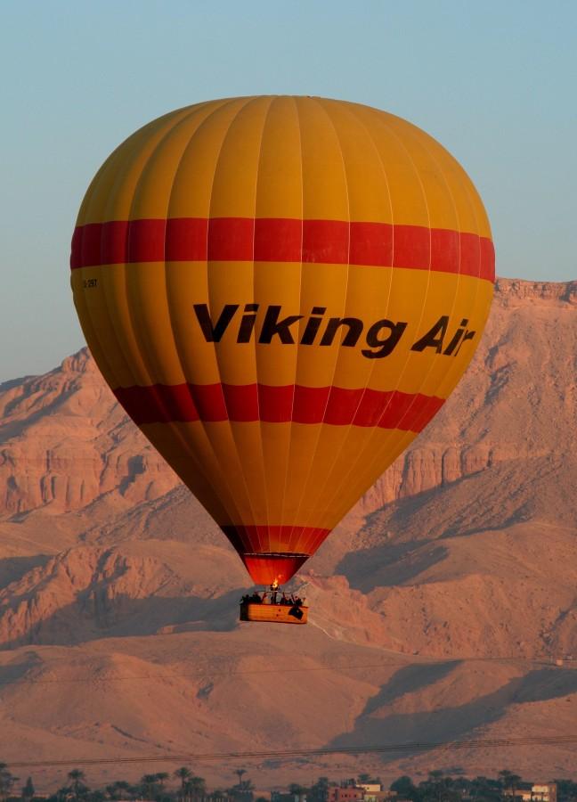 ballonvaart boven Vallei der Koningen