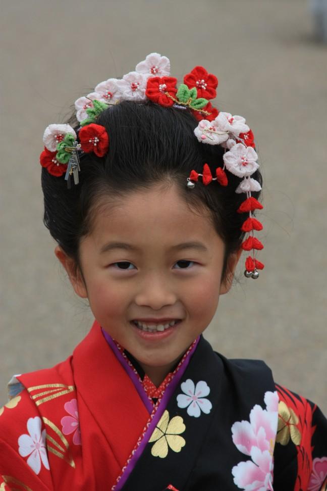 Kind in klederdracht