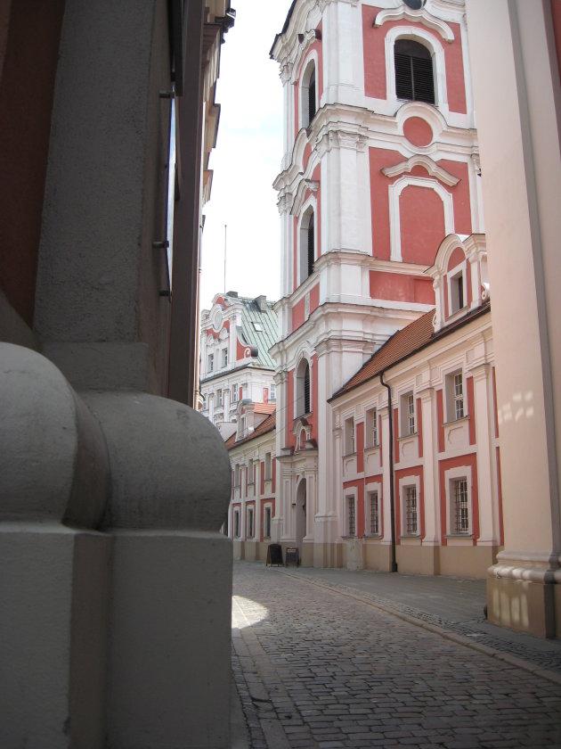 Steegje in Poznan