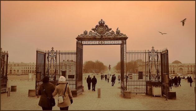Nieuwjaarswandeling bij Versailles