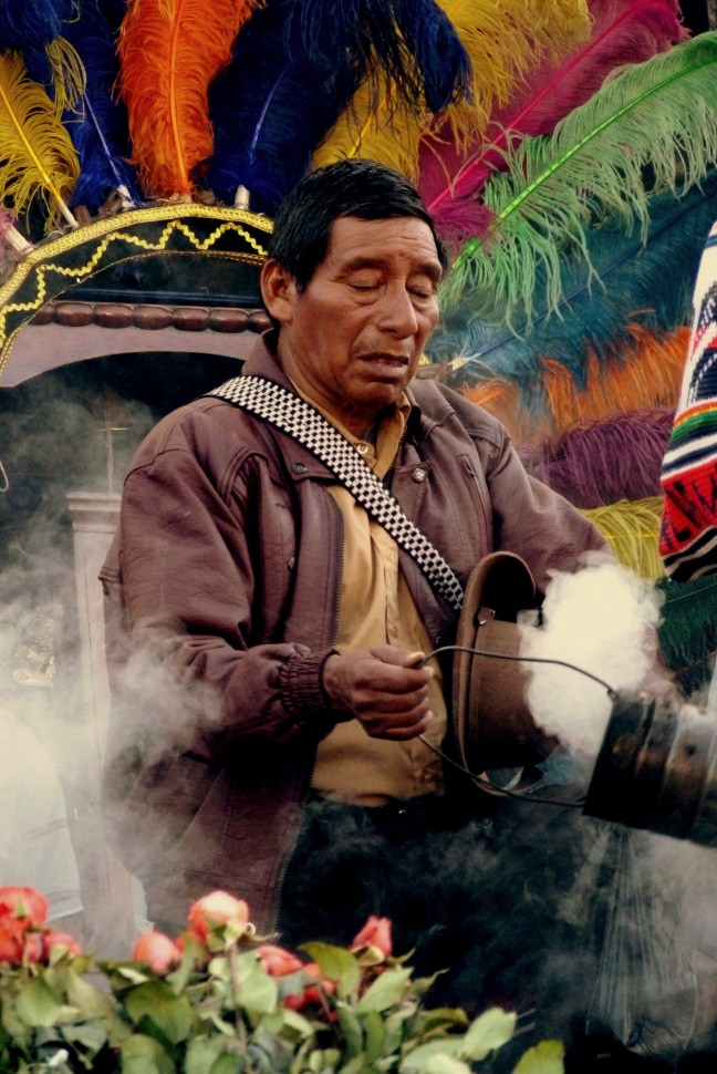 katholicisme meets maya tradities in Chichicastenango