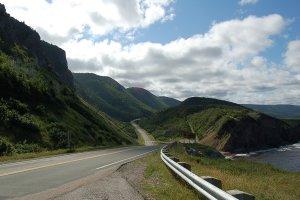 Cabot Trail - Highway Nova Scotia, Canada