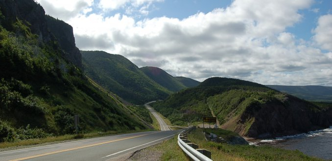 Cabot Trail - Highway Nova Scotia, Canada