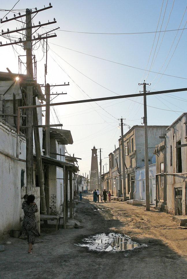 Straatje in Oud Chiva