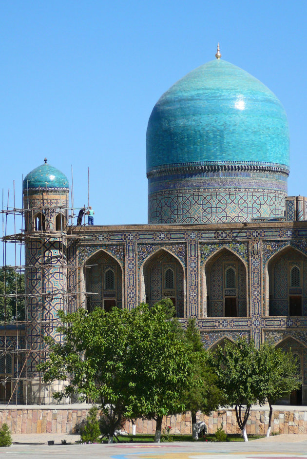 Mozaiekwerk in Samarkand