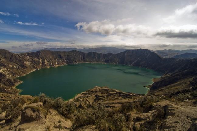 Kratermeer Quilotoa
