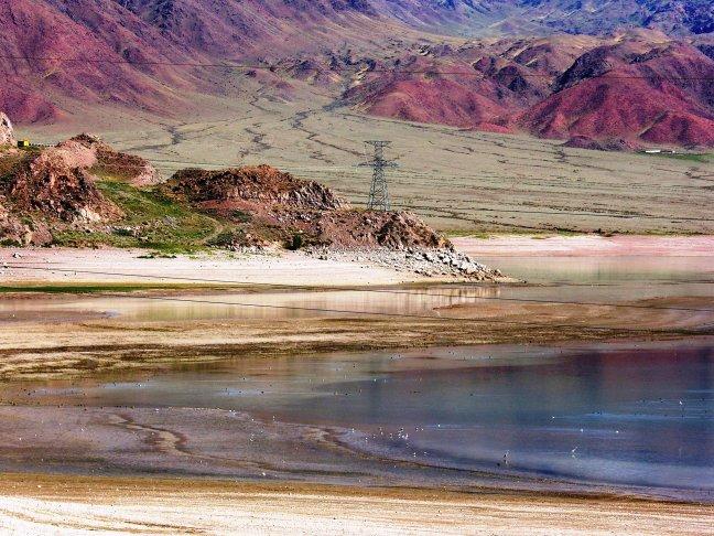 natuur in Kirgizië