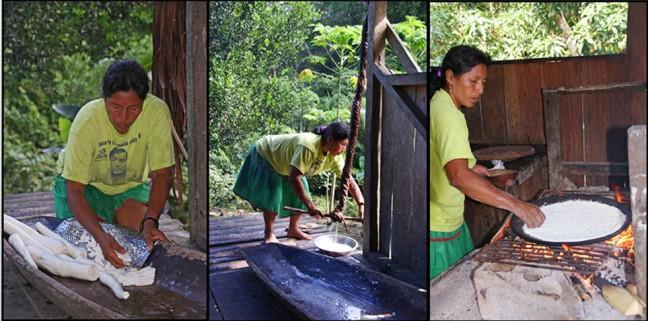 The making of....de cassave pannekoek