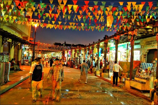 Winkelstraat Aswan