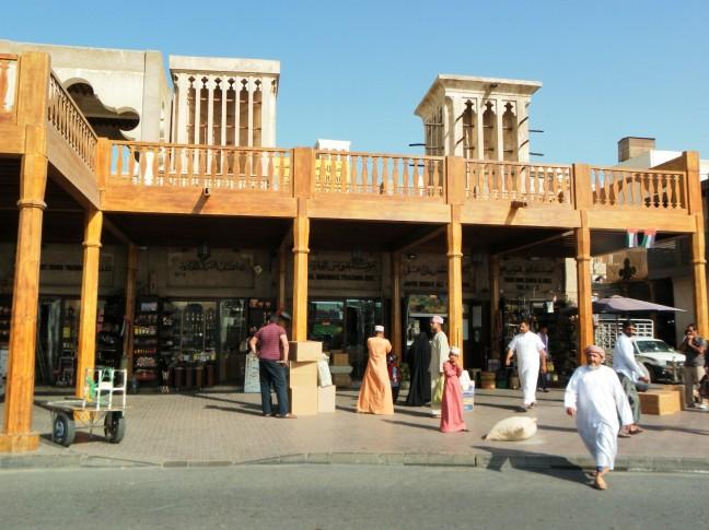 De oude souk in Deira