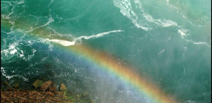 Niagara regenboog