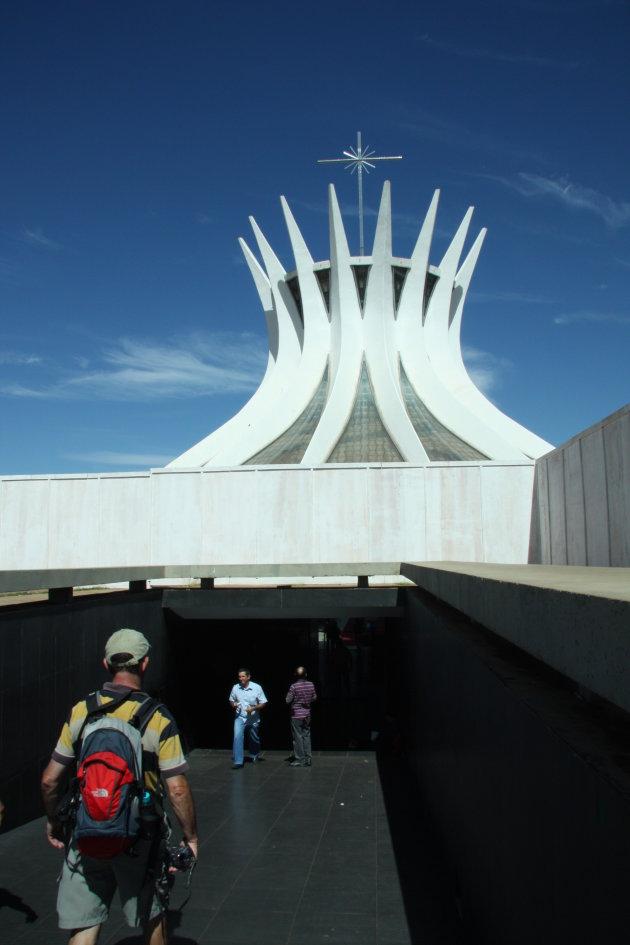Ingang van de kathedraal