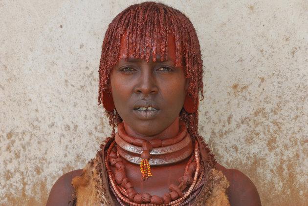 Ethiopische ogen, hamar jonge vrouw