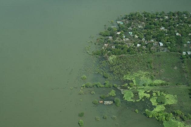 luchtfoto eiland
