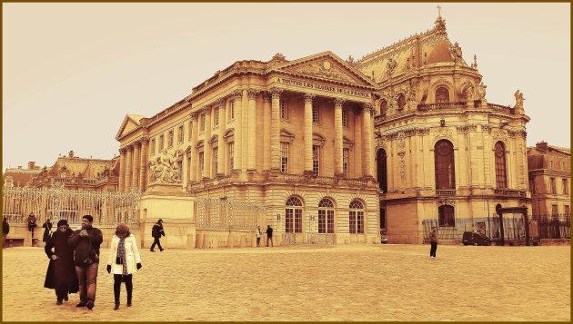 Nieuwjaarsdag bij Versailles