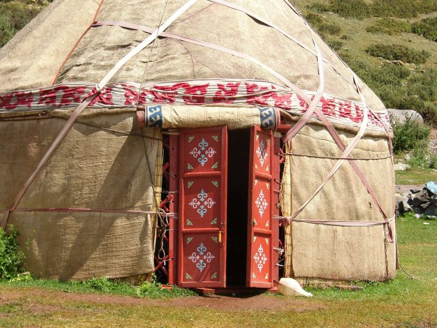wonen in Kirgizië
