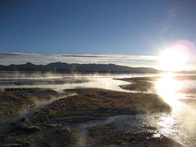 Hot springs Uyuni.