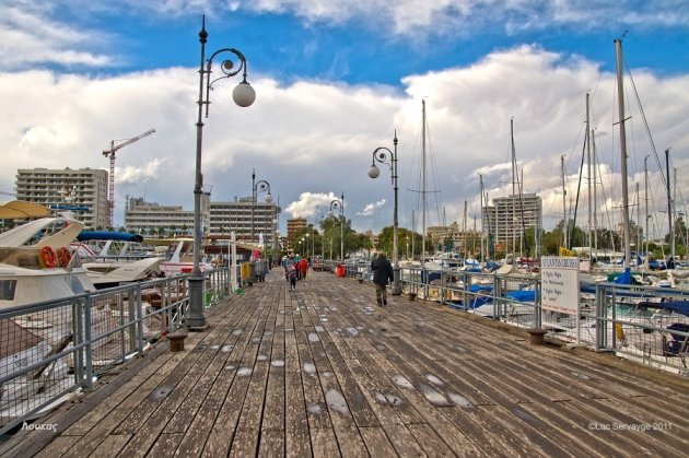 De Marina van Larnaca