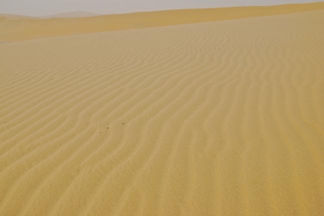Zand... en nog eens zand