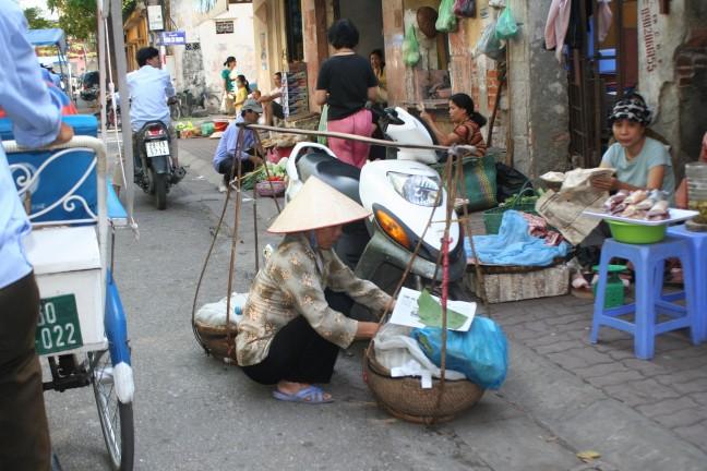Straatbeeld Hanoi