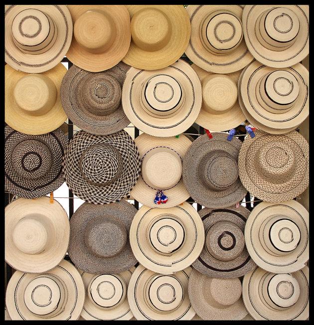 hoedjes uit Panama
