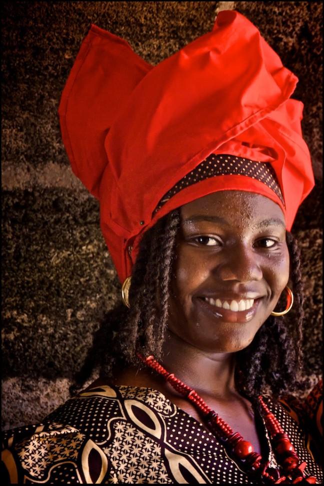 Dame uit Suriname