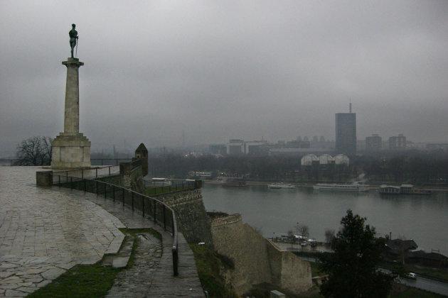 uitzicht op Belgrado