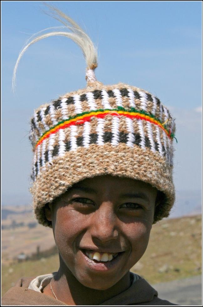 Ethiopisch jongetje