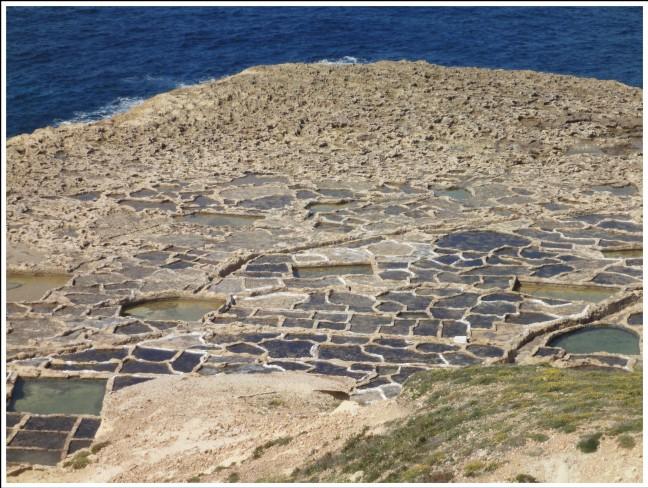 Zoutwinning op Gozo