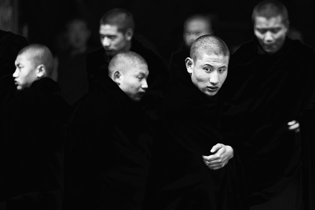 Monniken, Bhutan