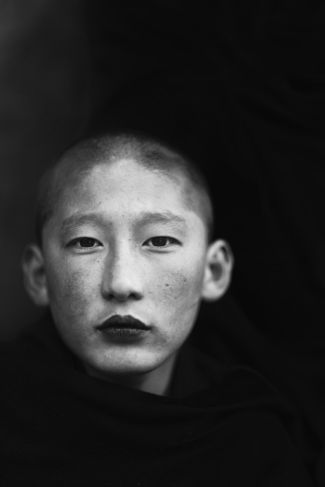 Monnik, Bhutan.